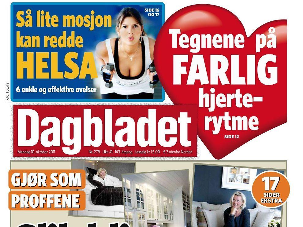 Dagbladet må kutte Markedsforing Media E24