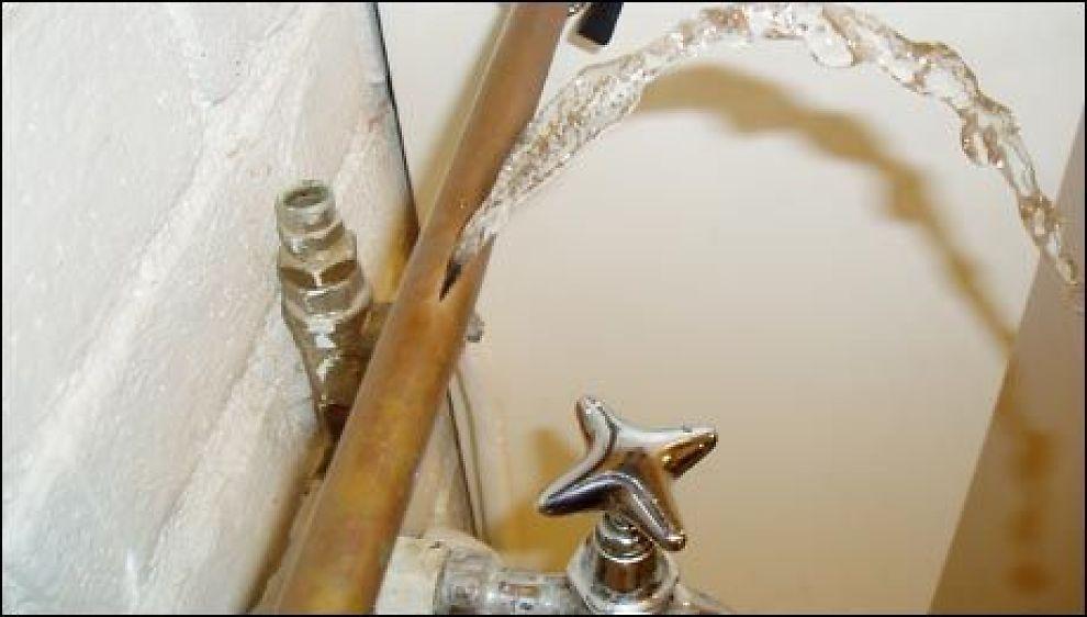Utleiers ansvar ved vannskade