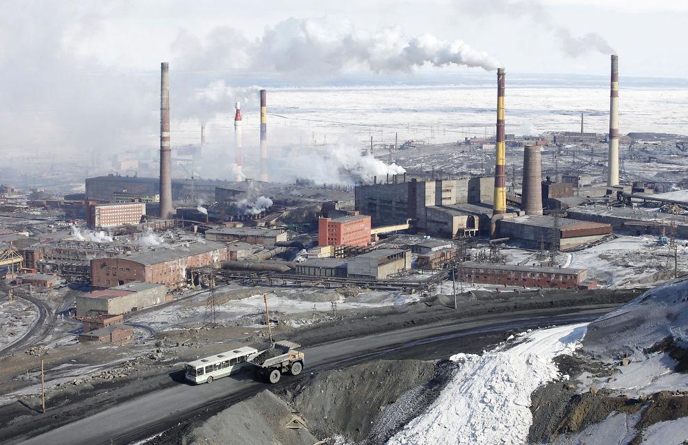 <p><b>LUKRATIV</b>: Sjefen for dette gruveselskapet, Norilsk Nickel, får 555 millioner kroner for å si opp.</p>