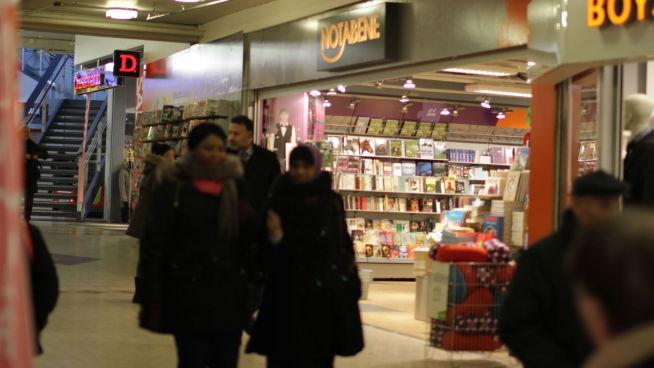 bokhandel oslo sentrum