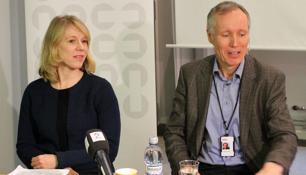 <p><b>50.000:</b> Så mange utlendinger kom til Norge for å jobbe i fjor, en svak økning i arbeidsinnvandringen. Det kom fram da arbeidsminister Anniken Huitfeldt (Ap) og UDI-direktør Frode Forang la fram ferske tall på en pressekonferanse i dag.<br/></p>