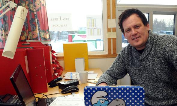 Jahn-Arvid Lerudsmoen (30) satt igjen med 350.000 kroner i kredittkortgjeld.