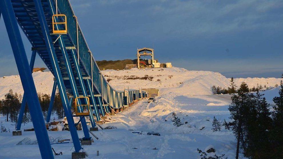 <p><b>I PENGENØD:</b> Northland Resources trenger penger for å kunne være i stand til sluttføre utbyggingen av malmgruven i Kaunisvaara i Pajala i Norrbotten i Sverige.</p>
