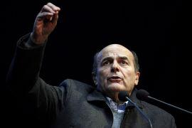 <p><b>FAVORITTEN:</b> Pier Luigi Bersani leder Det demokratiske partiet i Italia. Han er knepen favoritt til å vinne helgens valg, ifølge meningsmålingene.<br/></p>