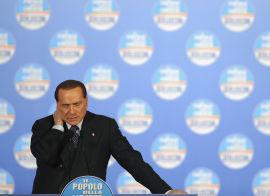 <p><b>VETERANEN:</b> Silvio Berlusconi har vært statsminister i tre perioder, og er en god nummer to på målingene i forkant av valget.<br/></p>