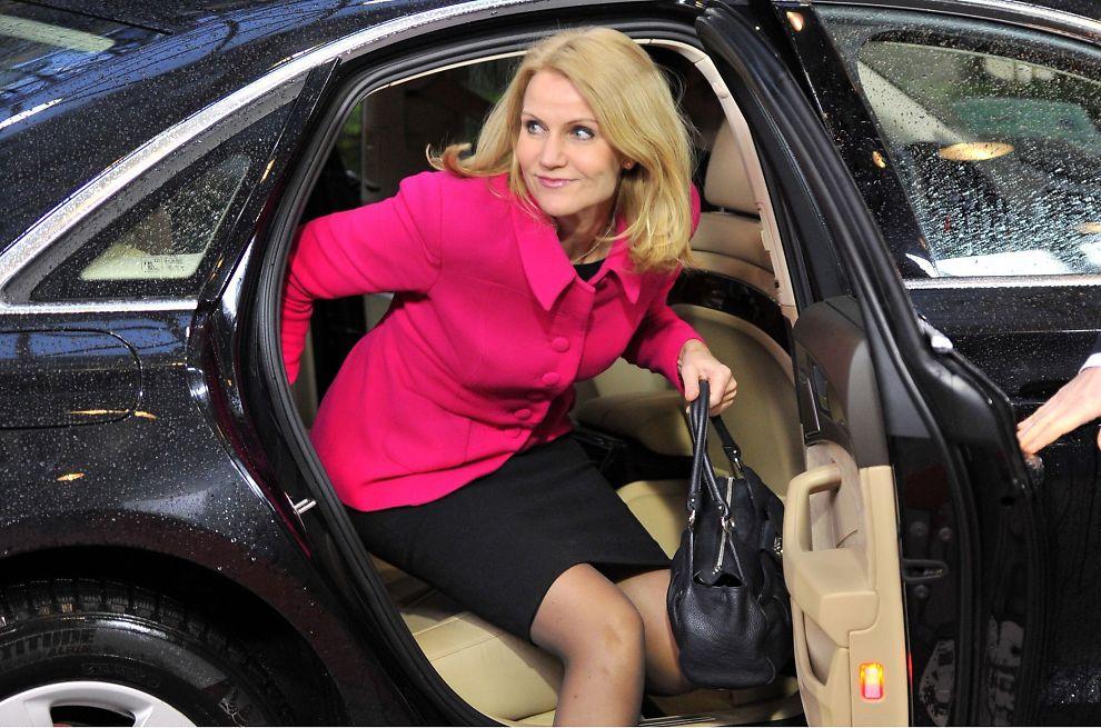 <p><b>JUBEL?</b> Danmark, her ved statsminister Helle Thorning-Schmidt, gir trolig næringslivet noe å juble for.</p>