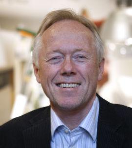 <p><b>FORSVARER:</b>Kredittdirektør Nils Roald i Innovasjon Norge mener det er greit at store verdiskapere får støtte.</p>