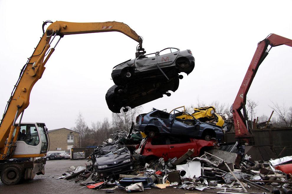 Vraking av bil årsavgift