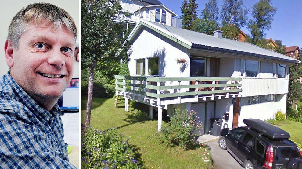 <p><b>SURE PENGER:</b> Helt siden 1973 har Knut Are Mortensen og hans foreldre betalt for mye skatt på eiendommen i Skogliveien i Tromsø.<br/></p>