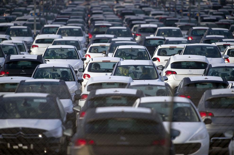 Tyskland bilsalg