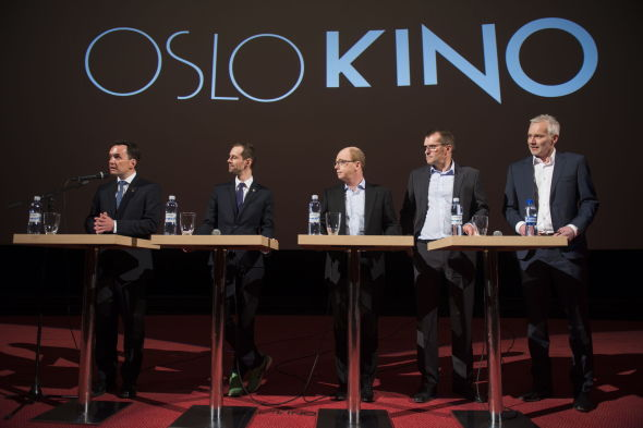 <p><b>SELGER TIL DANSK MEDIEKJEMPE:</b> Oslo Kino selges til Danske Egmont.</p>