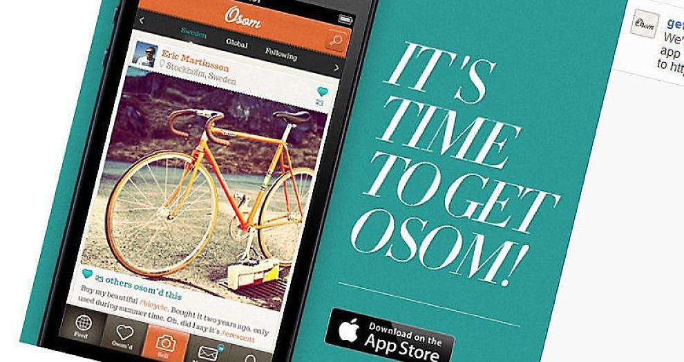 <p><b>INSTA-KOPI:</b> Med populære Instagram som mal, har svenske gründere skapt e-markedsplassen Osom, som de tror kan bli Europas største av sitt slag.</p>