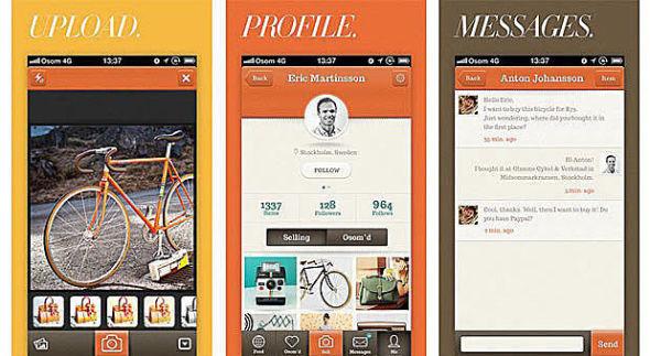 <p><b>BASERT PÅ INSTA:</b> Den nye svenske appen kan på mange måter beskrives som en blanding av Instagram og tradisjonelle nettmarkedsplasser.<br/></p>