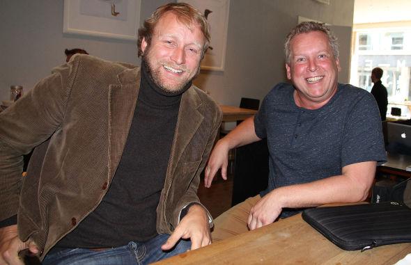 <p><b>MED GRUNN TIL Å SMILE:</b> Bjørn Rustberggaard (til venstre) er blant gründerne av Wevideo, mens Lasse Andresen var med og startet opp ForgeRock. Begge selskapene har blitt en hit hos amerikanske investorer i Silicon Valley.<br/></p>