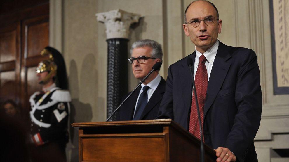 <p><b>NY REGJERING:</b> Enrico Letta ble onsdag bedt av president Giorgio Napolitano om å danne en ny regjering.<br/></p>