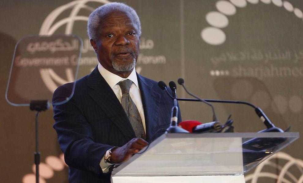<p><b>KRITISK:</b> Tidligere generalsekretær i FN, Kofi Annan, har ledet et utvalgsarbeid som konkluderer med at ulovlige og lyssky pengeoverføringer ut av verdensdelen, koster Afrika mer enn det man får inn i form av bistand og utenlandske investeringer.<br/></p>