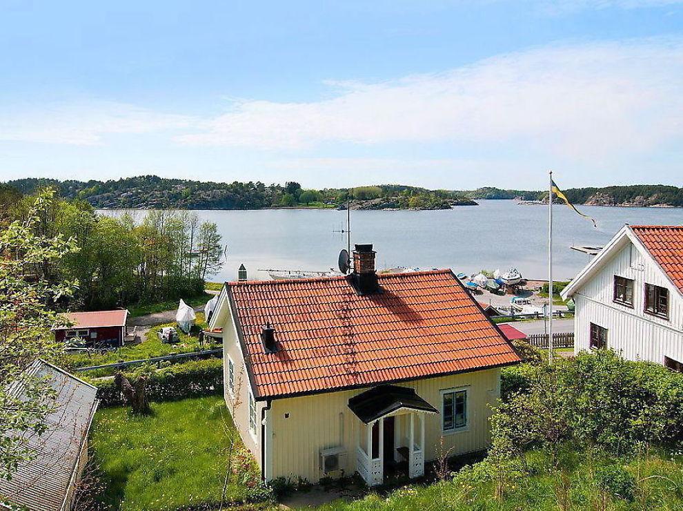 Leie hytte ved sjøen sverige