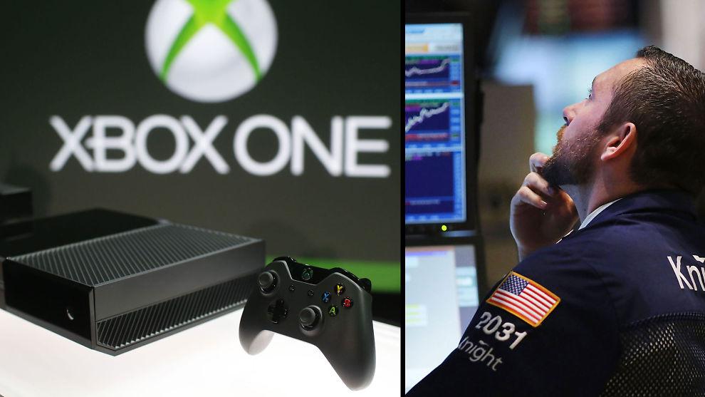 <p><b>INGEN KURSEFFEKT:</b> Wall Street jubler ikke over Microsofts nye Xbox One</p>