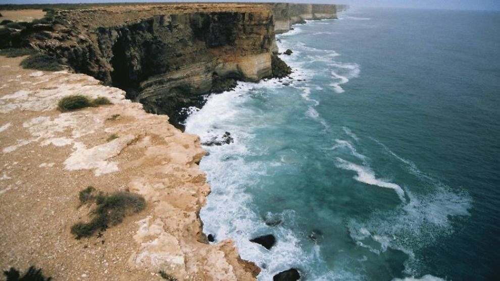 <p><b>NATURRESERVAT:</b> Deler av Australbukta er et stort naturreservat. Statoil planlegger å bore midt i dette området.</p>