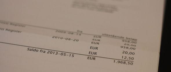 <p><b>KATALOGHAI:</b> Interiørgulv AS fikk denne fakturaen fra «Norsk Internett Register». – Vi var på nippet til å betale, forteller styreleder Erik W. Andersen.<br/></p>