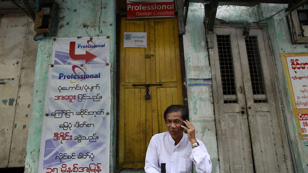 <p><b>TELENOR PÅ TRÅDEN:</b> Det norske telekomselskapet Telenor skal være med på å utvikle det mobilmarkedet i Myanmar.<br/></p>