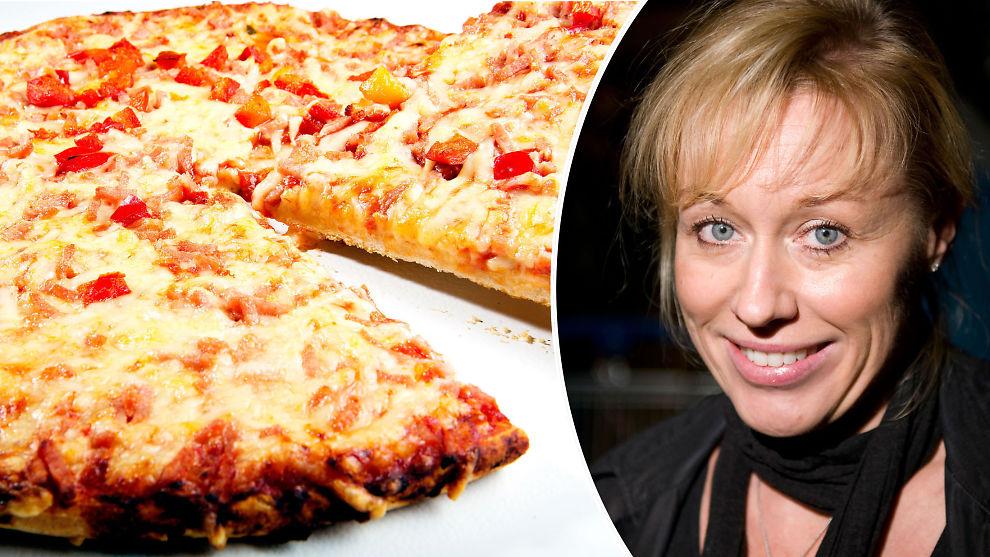 <b>KRYMPER:</b> Markedet for frossenpizza krymper og mattrendforsker, Annechen Bugge i SIFO mener den masseproduserte maten er på vei ut.