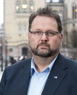 <p><b>UHOLDBART!:</b> Svein Harberg i Høyre mener studiefinansieringen er uholdbar.<br/></p>