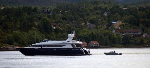 <p><b>LUKSUS:</b> Yachten «Elden» på havna i Kristiansund.<br/></p>