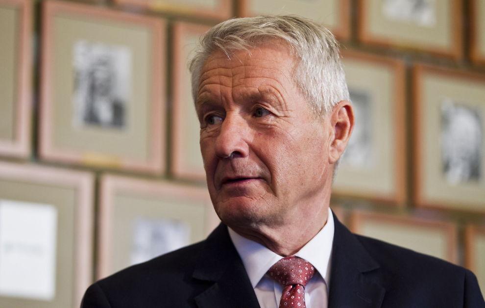 <p><b>SKAPER STRID:</b> I et intervju med Dagens Næringsliv antydet Thorbjørn Jagland at Ap-ledelsen har begynt å miste troen på fortsatt rødgrønt regjeringssamarbeid.</p>