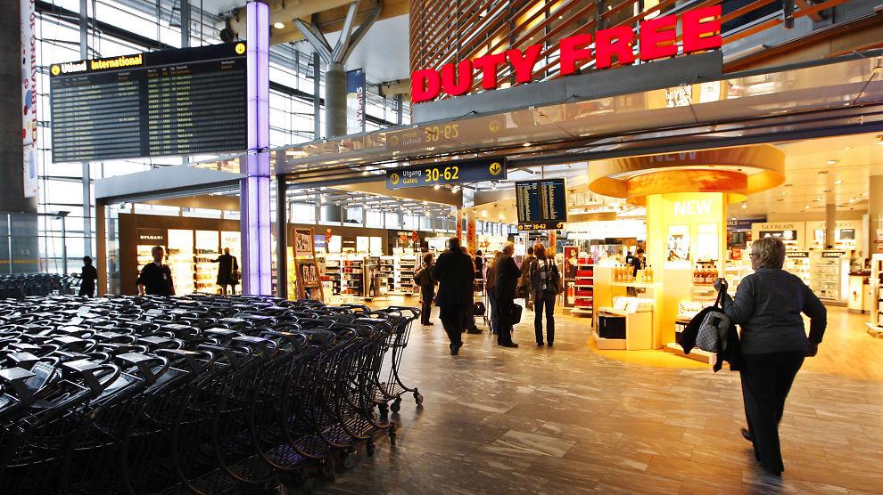 Oslo lufthavn butikker