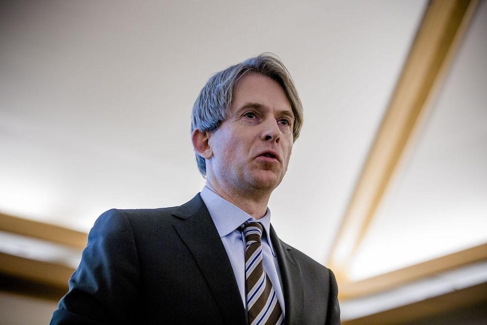 <p><b>FORNØYD:</b> Konserndirektør Eivind Roald i SAS sier at det ligger svette og tårer bak SAS' milliardresultat.</p>