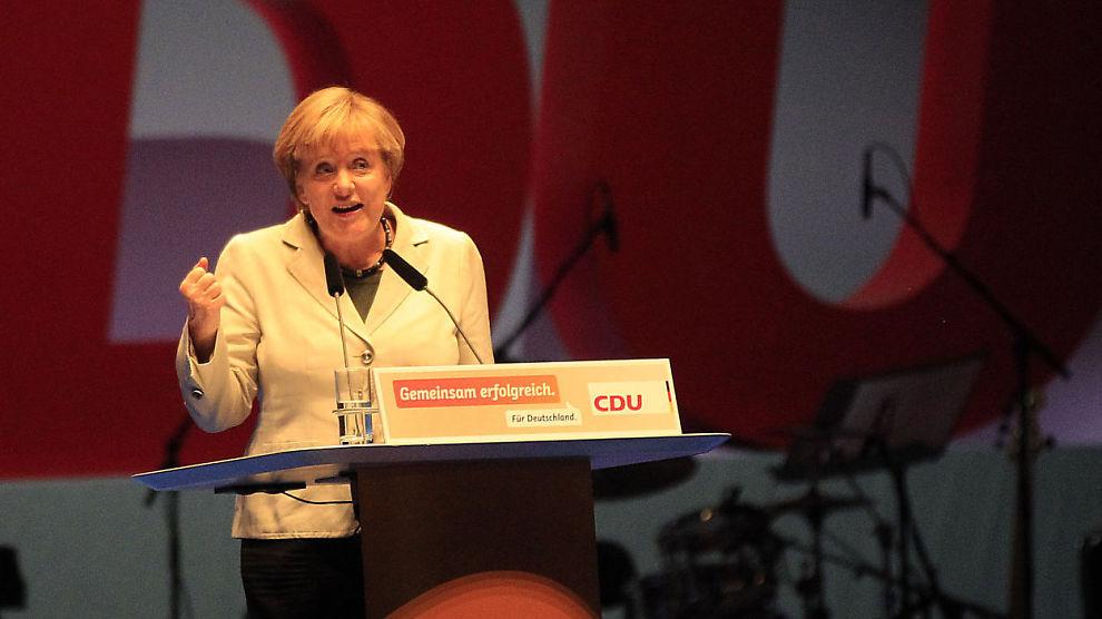 <p><b>EU FØRST:</b> Tysklands forbundskansler Angela Merkel mener EU-lederne i viktige spørsmål som rundt krigen i Syria, bør bli enige seg i mellom før de går ut i offentlige fora.<br/></p>