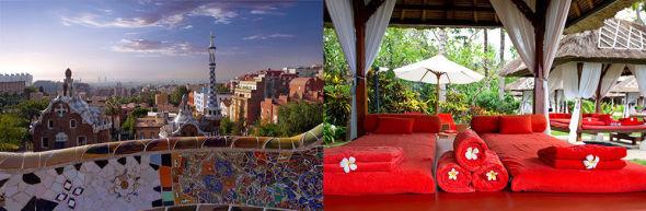 <p><b>Mer for pengene.</b> Om du selger hytta kan du både reise på storbyferie til Barcelona og til Thailand for pengene du ellers ville brukt på hytta i løpet av et år.</p>