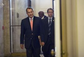 <p><b>GIR SEG IKKE:</b> Den republikanske speakeren John Boehner.<br/></p>