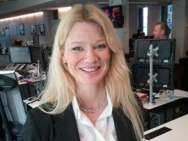 <p><b>SER HARDERE FRONTER:</b> Seniorøkonom Kari Due-Andresen i Handelsbanken Capital Markets.<br/></p>
