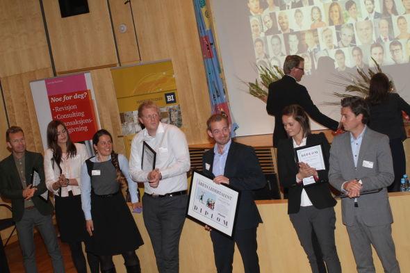 <p><b>APPLAUS:</b> Til stor applaus mottok Andreas Jul Røsjø prisen som årets Ledertalent.<br/></p>
