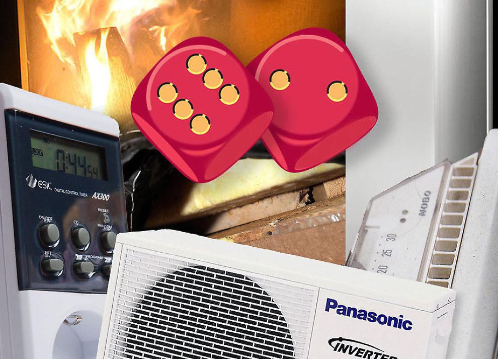 <p><b>Best og billigst:</b> Peis, varmepumpe eller koblingsur? Sjekk hvordan du fyrer billigst i vinter.</p>