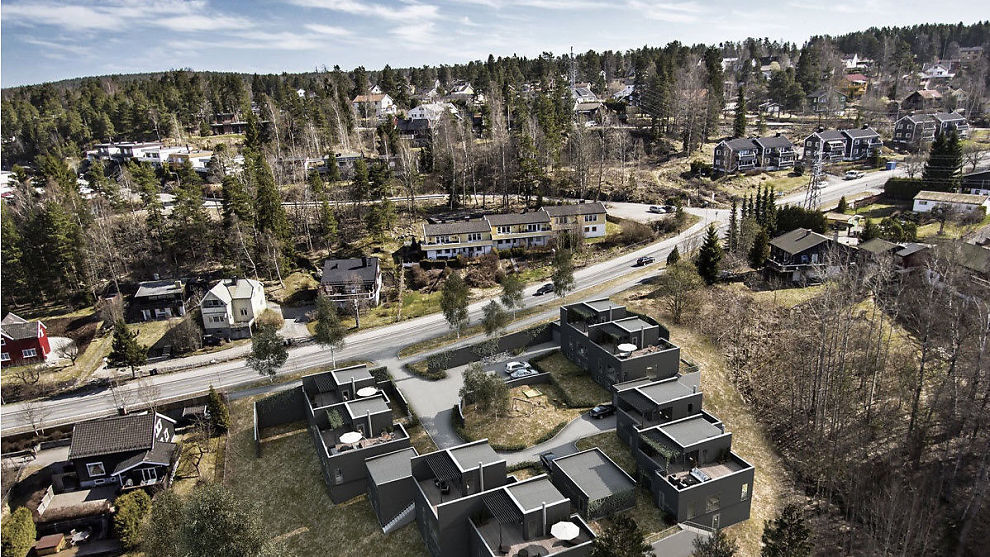 <p><b>UENIGE:</b> Mens Bolig- & Eiendomsutviklings mener en innbyttegaranti er trygg for kunder, advarer flere store aktører i boligbransjen. Her fra ett av selskapets prosjekter, Kolbotn atrium.<br/></p>