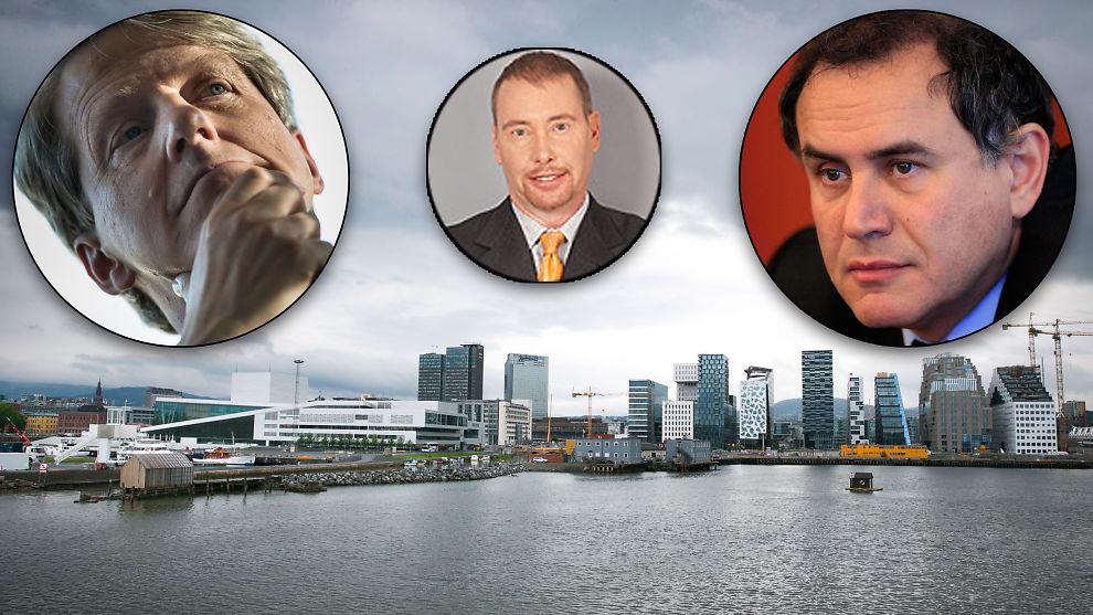 <p><b>HAR STEGET FOR MYE:</b> Ekspertene Robert Shiller, Jeffrey Gundlach, Nouriel Roubini mener de norske boligprisene har steget altfor mye.<br/></p>