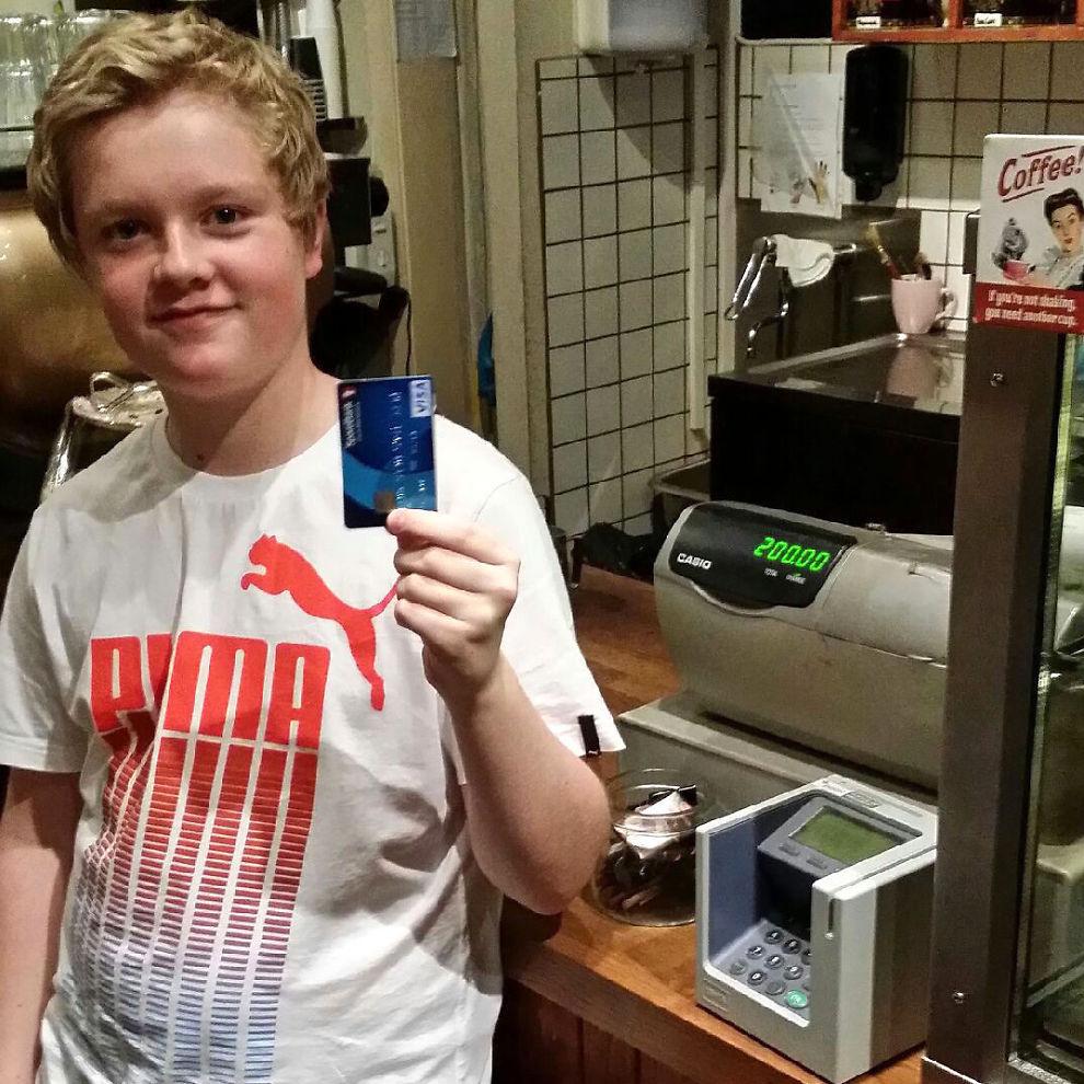 b1318beb Slik kan barnet ditt få bankkort - Penger - Privat - E24