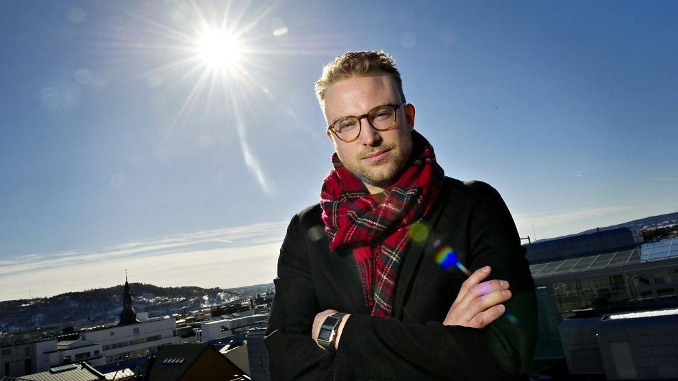<p>HØFLIG: Erik Lundesgaard.<br/></p>