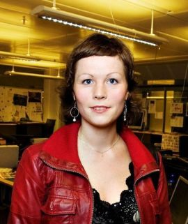 <p><b>TROR FACEBOOK DØR:</b> Schibsted-direktørTina Stiegler FOTO : RICHARD ERIKSEN</p>