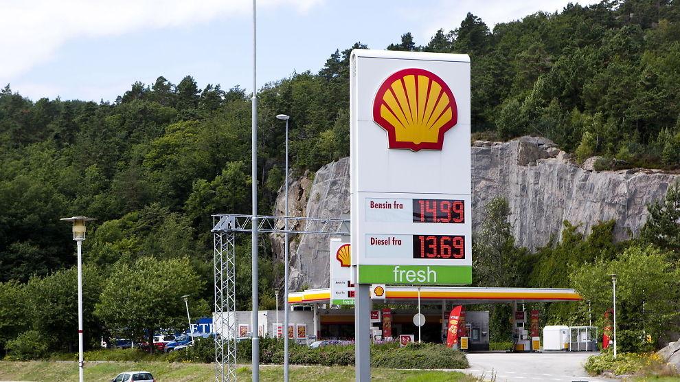 Shell bensinstasjoner