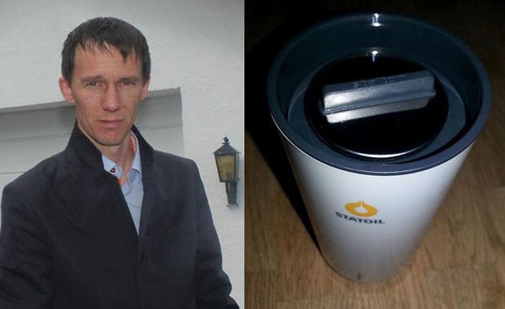 <p><b>BOIKOTTER:</b> Tor-Harald Pedersen liker den nye Statoil-koppen så dårlig at han boikotter deres bensinstasjoner.<br/></p>