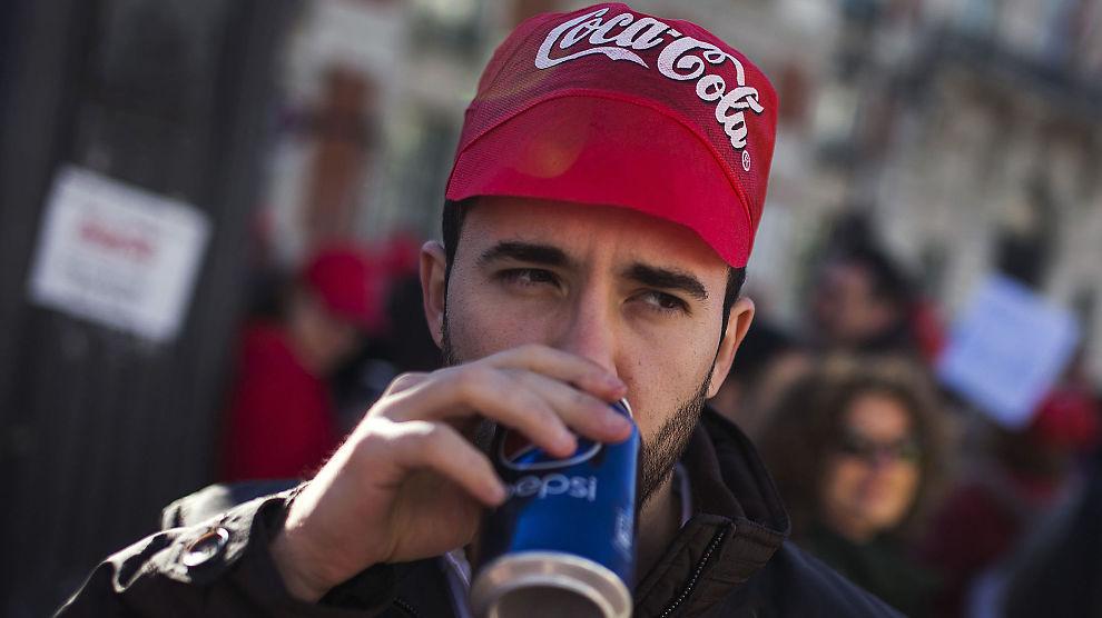 fire bugg og en coca cola