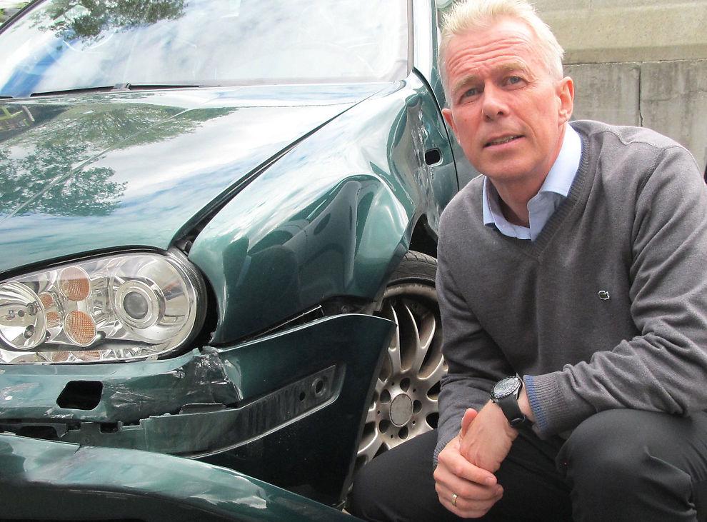 <p><b>EGENULYKKER:</b> – Bilister er redde for møteulykker, men egentlig har de størst risiko for å oppleve en bilskade på grunn av sin egen uoppmerksomhet, sier informasjonssjef Voll i Gjensidige.</p>