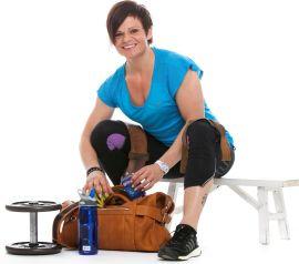 <p><b>SPIS!</b>: Ernæringsfysiolog Therese Mathisen råder Birkebeinerdeltakerne til å få i seg godt med karbohydrater før og under Birken.</p>