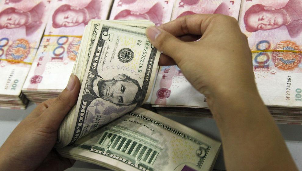 STYRKER SEG: Kinesiske yuan styrker seg kraftig to dager før G20-møtet.