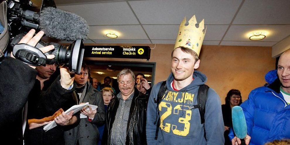 MEDIEKONGE: Petter Northug vant norske nyhetspalter.