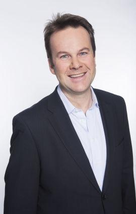 Henning Lunde, direktør for samfunns- og pressekontakt i Tele2s norske virksomhet
